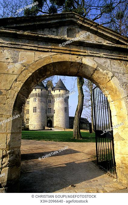 Castle St-Jean, Nogent-le-Rotrou, Parc naturel regional du Perche, Eure & Loir department, region Centre, France, Europe