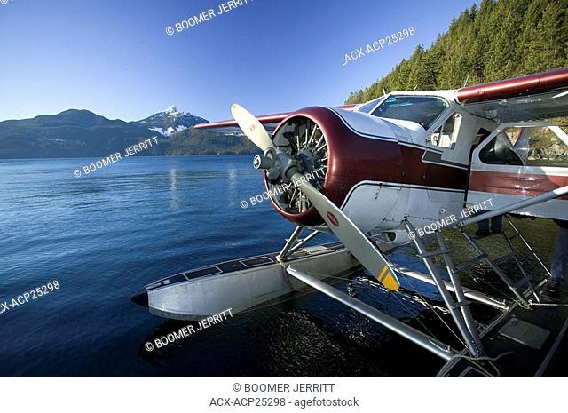 Beaver floatplane, Bute Inlet, British Columbia, Canada