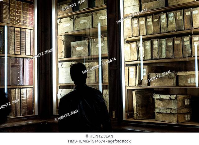 France, Paris, Le Marais, National Archives during Journees du Patrimoine cultural event