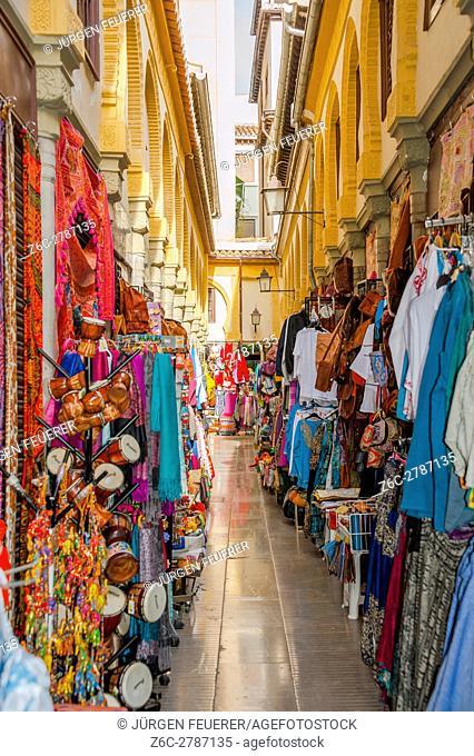 Alcaiceria bazaar, Granada, Spain