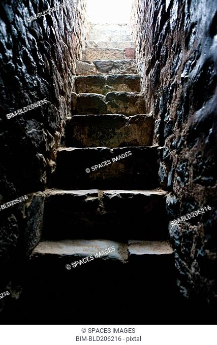 Stone Steps at Hanumans Tomb