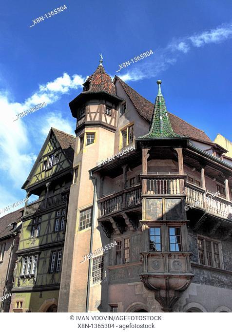 Maison Pfister 1537, Colmar, Haut-Rhin department, Alsace, France