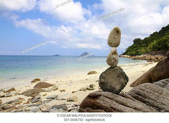 Perhentian Islands Malaysia coral and rock sculptures