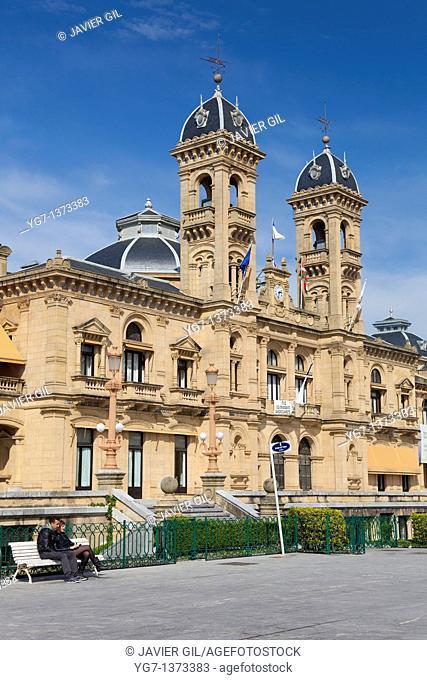 City hall of San Sebastian, Gipuzkoa, Spain