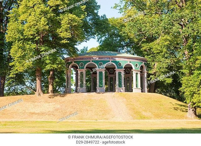 Sweden, Stockholm - Echo Tempel (Ekotemplet) in Haga Park