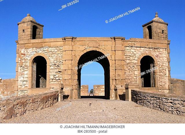 Essaouira fortress tower (Skala de la Kasbah), Morocco, Africa