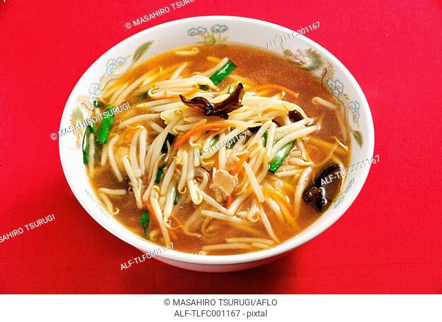 Chinese-style ramen noodles