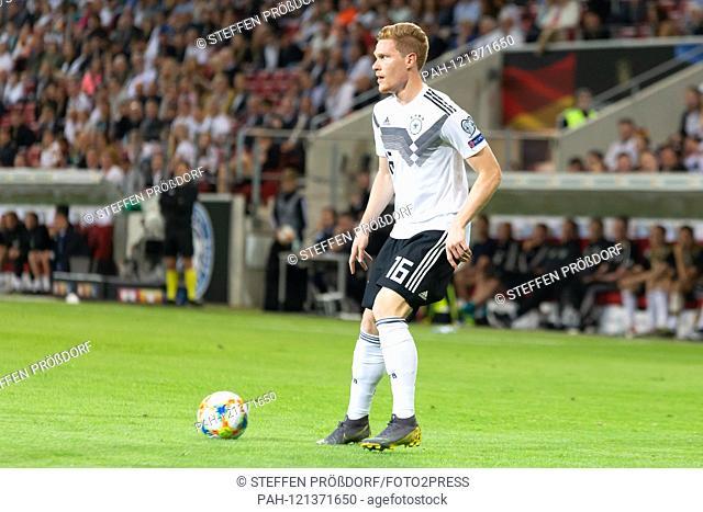 Marcel Halstenberg (GER, 16); Freisteller, single image, action, action, 11.06.2019, Mainz, football, men, Landerspiel, Germany-Estonia