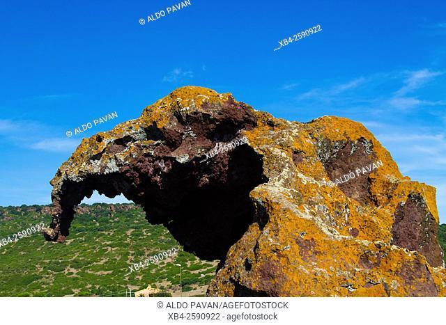 Elephant Rock, Castelsardo, Sardinia, Italy