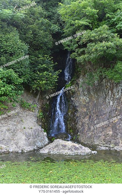 Ritsurin Koen Garden, Takamatsu city, Shikoku island, Japan, Asia