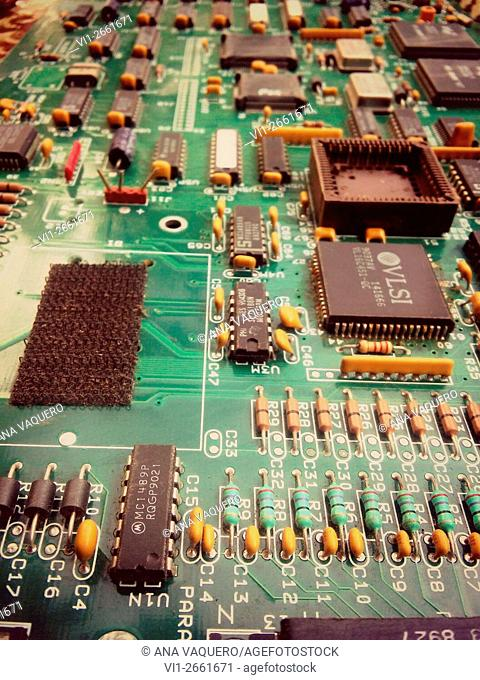 Old computer board