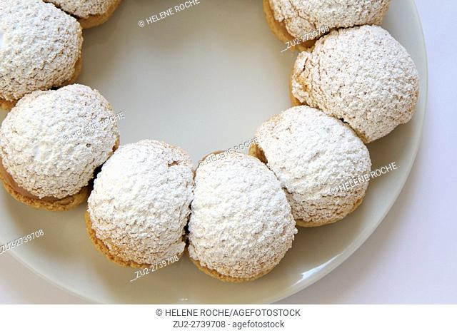 Paris Brest french pastry