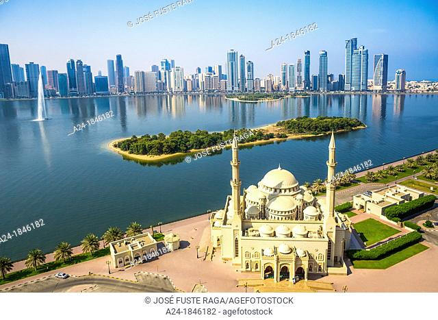 United Arab Emirates UAE, Sharjah City ,Al Noor Mosque