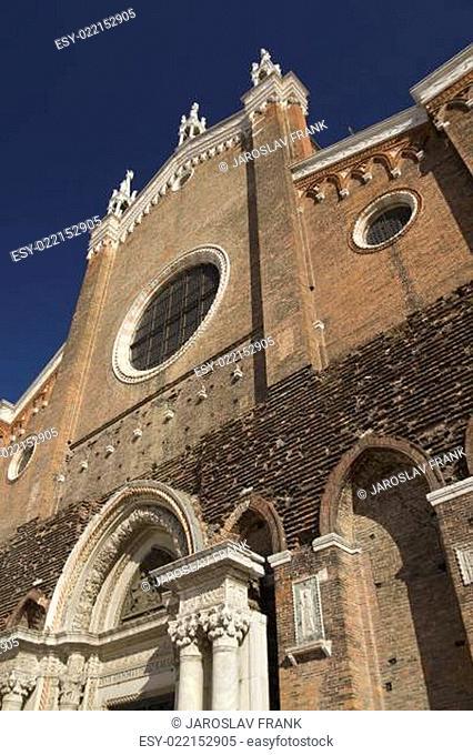Basilica di San Giovani e Paolo. (Venice, Italy)