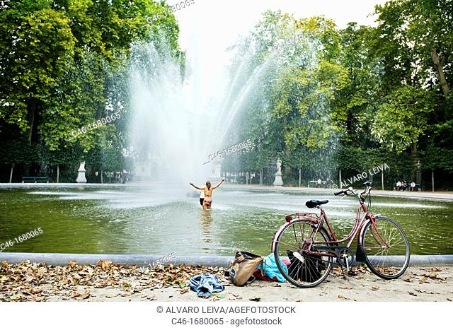 Park of Brussels, parc de Bruxelles, Brussels, Belgium