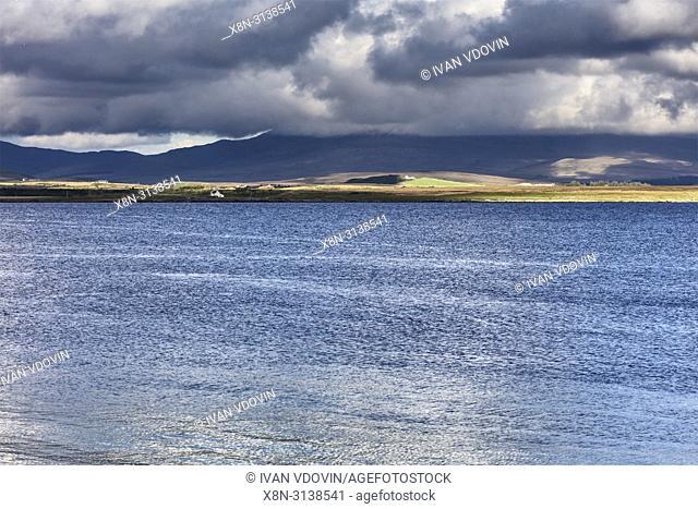 Seascape, Port Charlotte, Islay, Inner Hebrides, Argyll, Scotland, UK