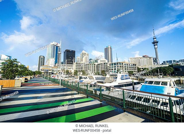 New Zealand, Auckland, harbour