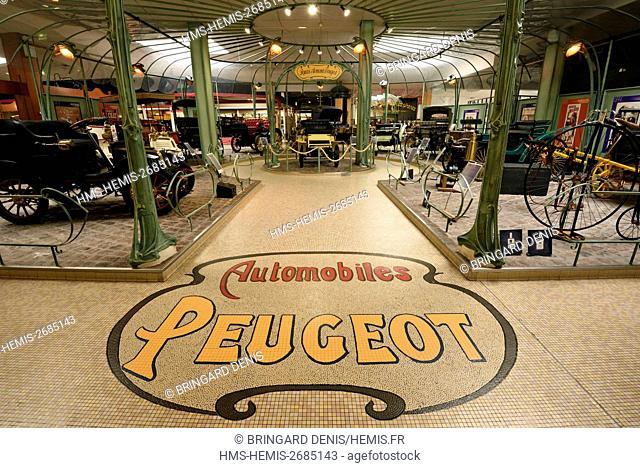France, Doubs, Sochaux, Musee de l'Aventure Peugeot
