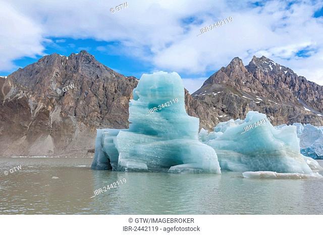Kongsfjorden, Spitsbergen West coast, Svalbard archipelago, Norway, Europe