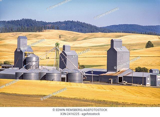 Washington, USA - Grain elevator