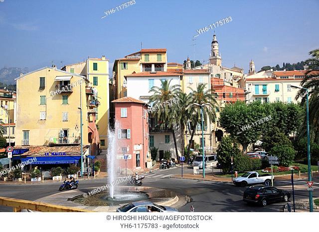 France, Provence, Cote d'Azur, Menton