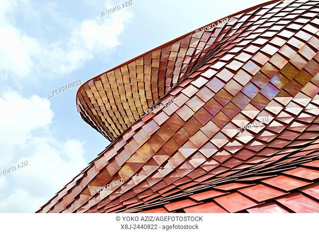 Italy, Milan, EXPO 2015, architecture