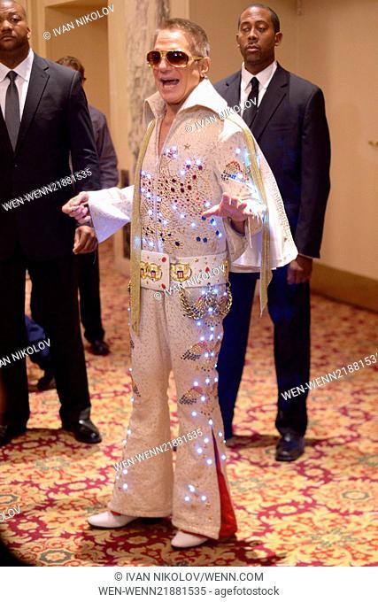 "19th Annual Hulaween Gala """"Fellini Hulaweeni"""" - Red Carpet Arrivals Featuring: Tony Danza Where: Manhattan, New York, United States When: 01 Nov 2014 Credit:..."