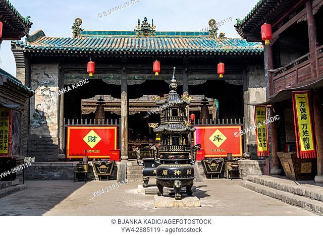Cheng Huang Buddhist Temple, Pingyao, Shanxi province, China