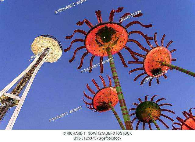 Sonic Bloom created by Dan Corson combines art and science