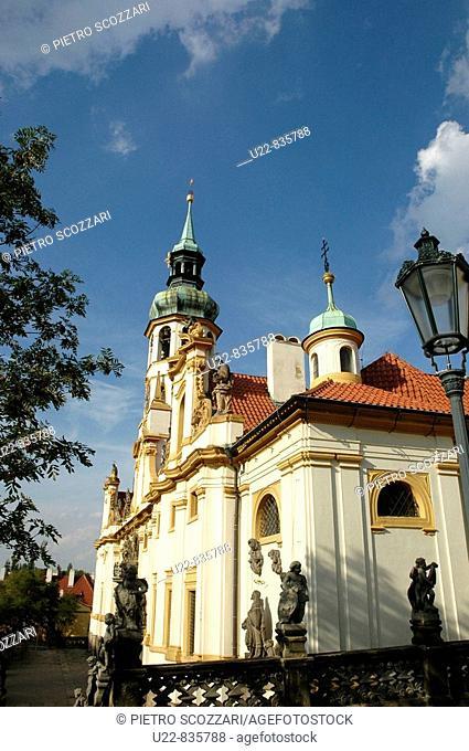 Prague Czech Republic, the Loreta sanctuary Hradcany