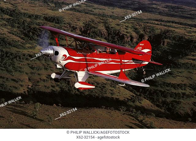Pitts S-2A aerobatic sport aircraft