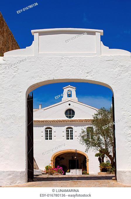 Menorca Sanctuary Mare de Deu del Toro in Balearic islands