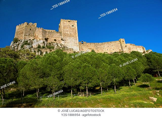 The Castle of the Moon -13th century, Alburquerque, Badajoz-province, Spain