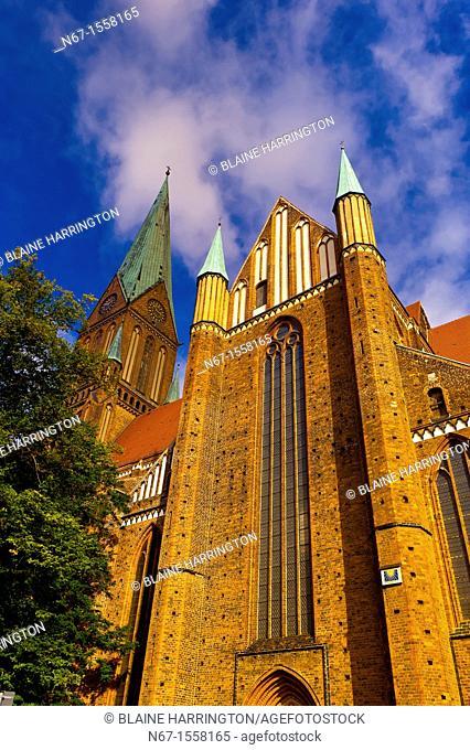 Cathedral Dom, Schwerin, Mecklenburg-West Pomerania, Germany