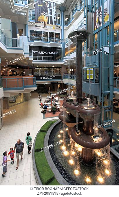 Canada, Quebec, Montreal, Place Montreal Trust, shopping mall,