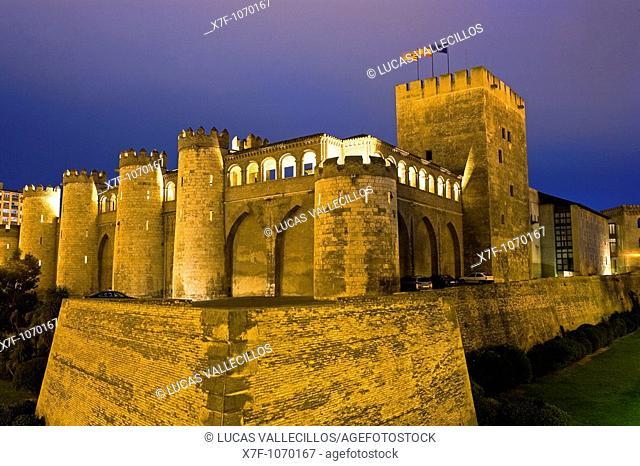 Zaragoza, Aragón, Spain: Aljafería Palace