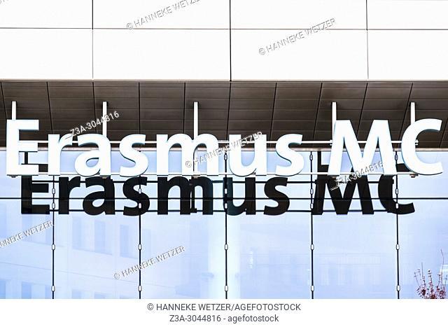Entrance of the Erasmus MC University Hospital in Rotterdam, the Netherlands