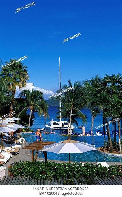 Ritz Carlton Hotel on St. Thomas Island, United States Virgin Islands, Caribbean