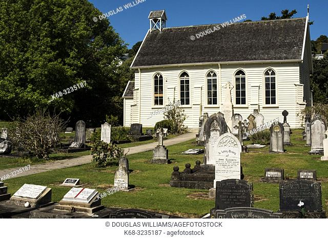 Christ Church in Russell, New Zealand, the country's oldest church