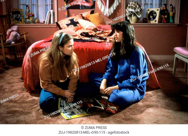 Aug 13, 1982; Los Angeles, CA, USA; JENNIFER JASON LEIGH and PHOEBE CATES star as Stacy Hamilton and Linda Barrett in the comedy 'Fast Times at Ridgemont High'...