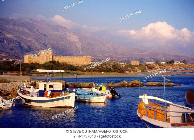 Evening Light, Frangocastello, South Crete, Greece