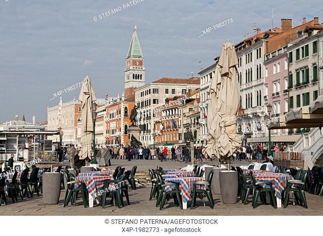 Riva degli Schiavoni, Venice, Italy