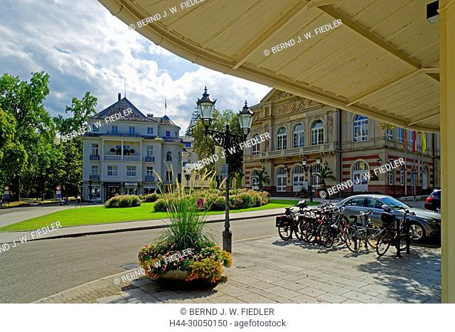 Goethe's place, theatre, Baden-Baden Germany