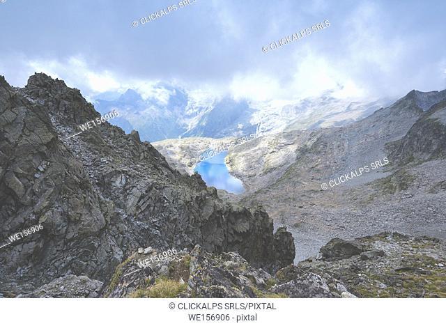 Sentiero dei Fiori in Adamello park, Brescia province, Europe, Lombardy district