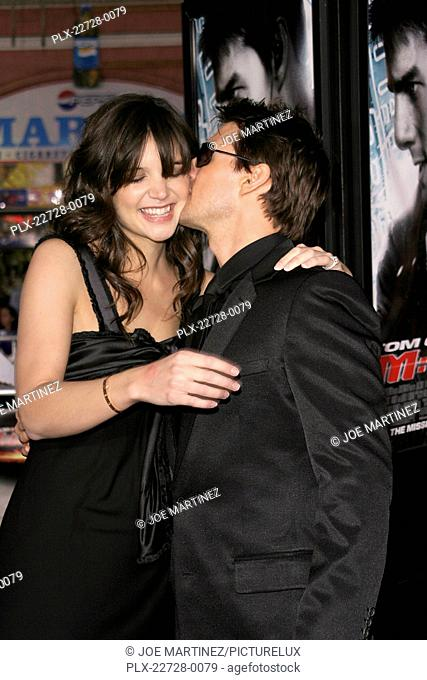 Mission: Impossible III (Fan Screening) Katie Holmes, Tom Cruise 05-04-2006 / Grauman's Chinese Theatre / Hollywood, CA / Paramount Pictures / Photo by Joe...
