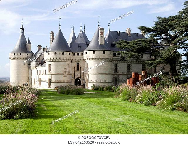 Chaumont sur Loire. France. Chateau of the Loire Valley
