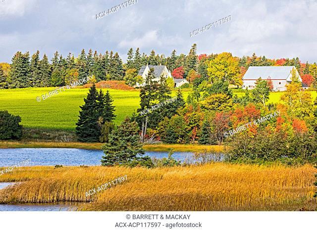 Farm, Meadowbank, Prince Edward Island, Canada