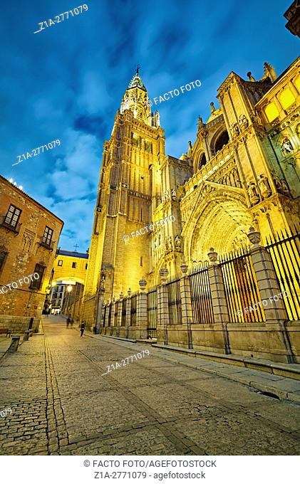 The Primate Cathedral of Saint Mary of Toledo. Toledo. Spain