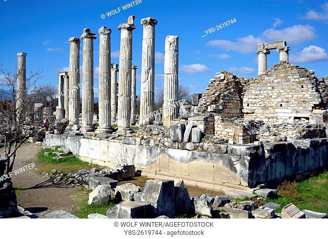 Museum of Aphrodisias. Temple of Aphrodite