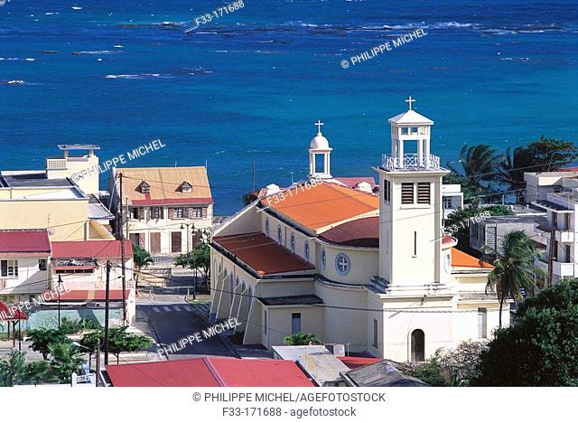 Capesterre. Marie-Galante. Department of Guadeloupe. France